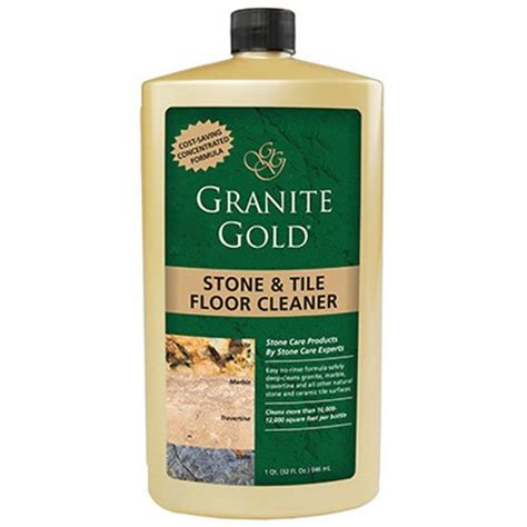 granite gold tile floor cleaner concentrated no