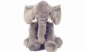 Peluche Elephant Geant : peluche douce l phant g ant groupon ~ Teatrodelosmanantiales.com Idées de Décoration