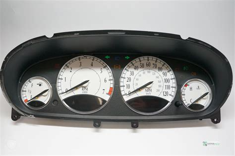 airbag deployment 2000 chrysler town country instrument cluster chrysler sebring chrysler town and country chrysler c 300 speedometer gauge instrument cluster