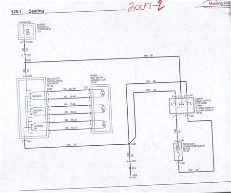 Electric Wiring Diagram Ford Mustang 2009 by Power Heated Seat Wiring Info 05 Up The Mustang Source