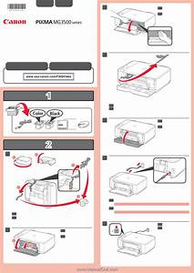Manuals  Canon Pixma Mg3222 Getting Started Guide Manual