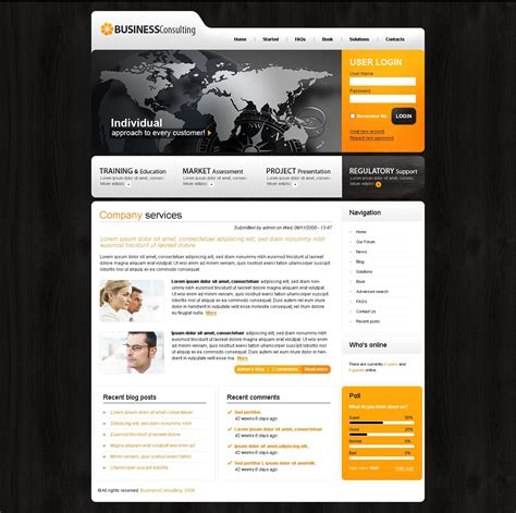 drupal templates consulting drupal template 23911