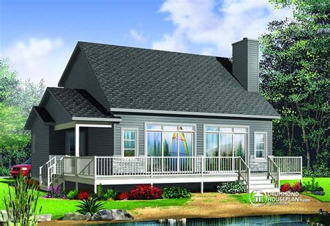 house plan   beautiful cottage  baby boomer