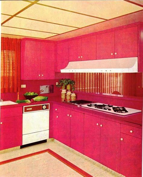 cuisine fushia inspiration des cuisines aux couleurs pop