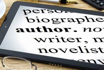 Author Writer Dictionary Tablet Novelist Leaping Fiction