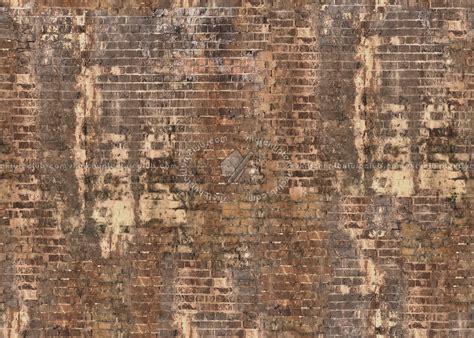 damaged bricks texture seamless