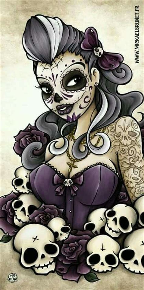 25+ Best Ideas About Sugar Skull Girl On Pinterest Sugar