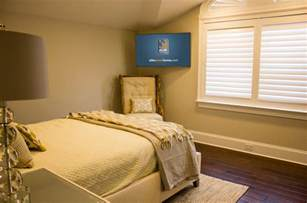 wall decorating ideas for bedrooms when and how to place your tv in the corner of a room
