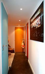 Porte De Couloir : 21 id es de couleur de peinture pour vos portes ~ Nature-et-papiers.com Idées de Décoration