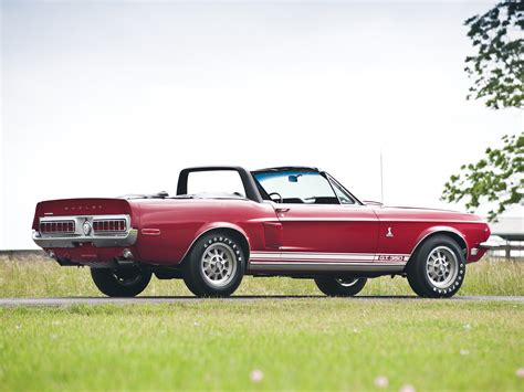 1968 shelby gt350 convertible ford mustang classic muscle