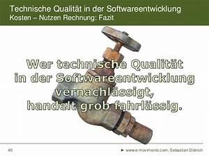 Kosten Nutzen Rechnung : kosten technischer qualit t in der softwareentwicklung ~ Lizthompson.info Haus und Dekorationen