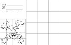 grid drawings for drawing with grids worksheets