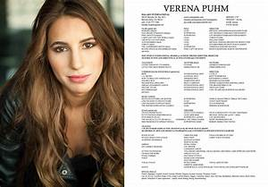 headshot resume verena puhm With headshot resume printing