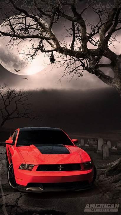 Mustang Mobile 720 1280 Wallpapers Cars Halloween