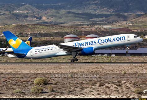 G-FCLI - Thomas Cook Boeing 757-200 at Tenerife Sur ...