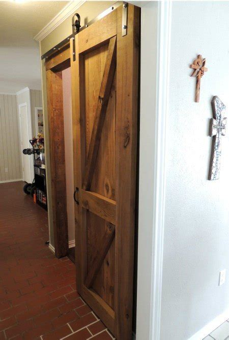 how to make a sliding barn door how to build a sliding barn door
