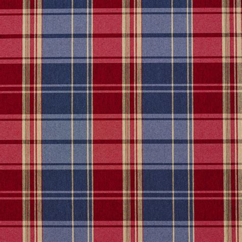 Blue Plaid Upholstery Fabric by Burgundy And Blue Plaid Damask Upholstery Fabric