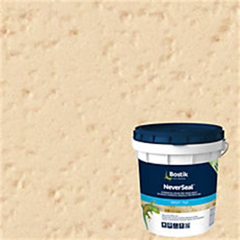 bostik neverseal bostik neverseal classic bone pre mixed commercial grade grout 9lb floor and decor