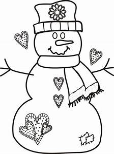 christmas coloring pages to print free - printable coloring pages christmas snowman coloring home