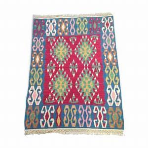 tapis et peau vintage d39occasion With tapis kilim turquie
