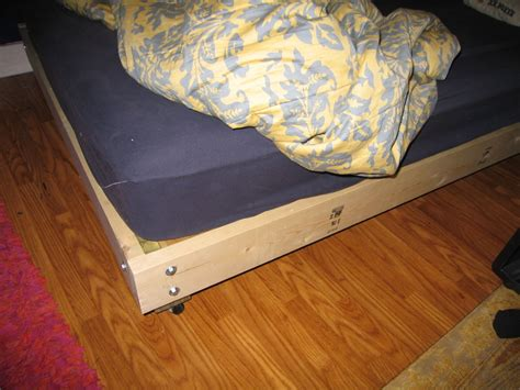 build a bed platform beds build it yourself bachelor on a budget