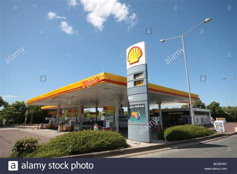 Shell Garage Stock Photo 25147501 Alamy Startseite