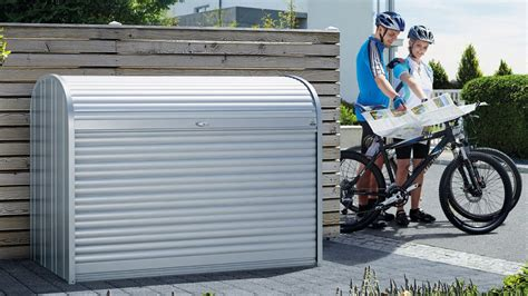 Mülltonnenbox, Fahrradgarage Storemax Von Biohort Youtube