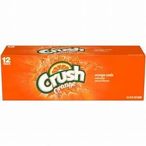 Crush Orange Caffeine Free Soda 12 Pack