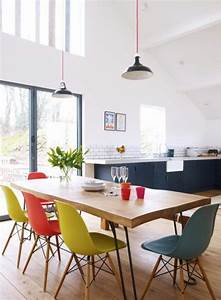 idee deco table salle a manger 2 jolie salle a manger With salle a manger 2 couleurs