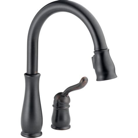 Delta Leland Bathroom Faucet Bronze by Shop Delta Leland Venetian Bronze 1 Handle Pull Deck