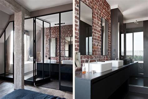 chambre style loft industriel appartement style loft industriel