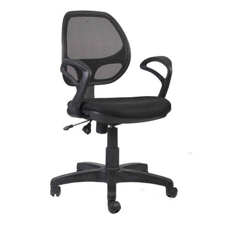 ergo mesh office chair high back chairs height