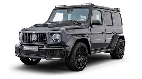 730 hp / 537 kw of power, 1,320 nm of. Brabus introduces Black Ops and Shadow: Two modified Mercedes G63s
