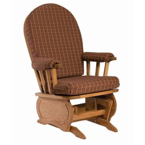 newport gliders maple oak bow back glider replacement