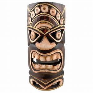 Handmade Tiki Mask (Indonesia) - Free Shipping On Orders
