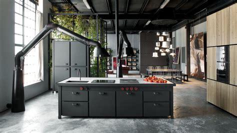 les cuisines de claudine cuisine beton cire bois optez pour le noyer dans la
