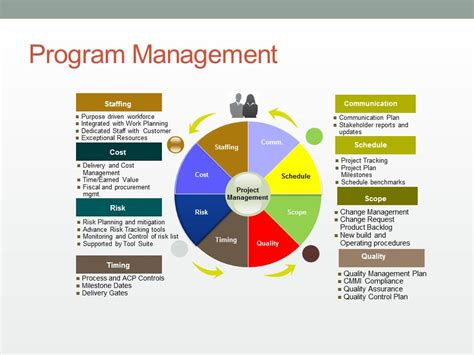 program management business plan matrix