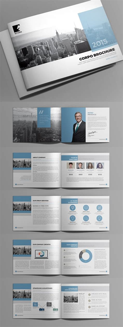 Graphic Design Brochure Templates by New Brochure Templates Catalog Design Design Graphic