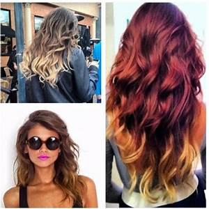 Ombré Hair Rouge : hair la schiuma del cappuccino ~ Melissatoandfro.com Idées de Décoration