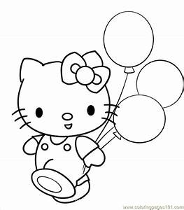 Balloons Coloring Pages - Coloring Home
