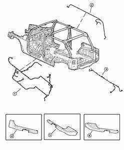 Jeep Wrangler Wiring  Body    8 Speakers  6 Premium
