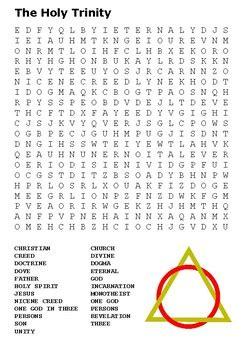 holy trinity word search  stevens social studies tpt