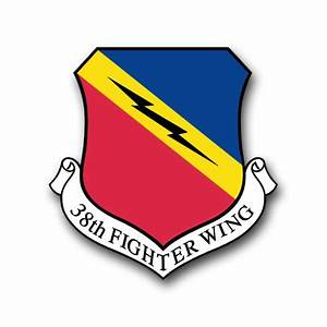 Air Force 388th Fighter Wing Vinyl Transfer Decal