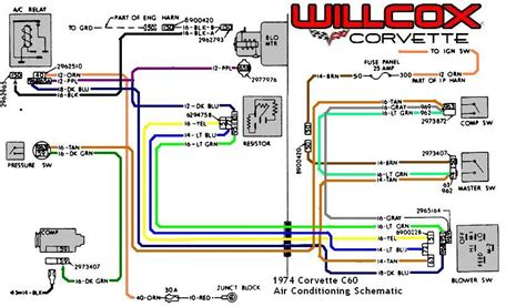 1980 Chevy Heater Resistor Wiring Diagram by 1974 Stingray Heater Blower Question Corvetteforum