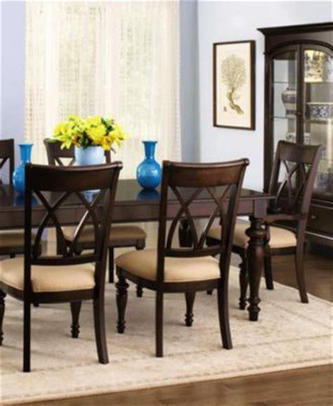 macys bradford dining room table bradford 7 dining room furniture set furniture