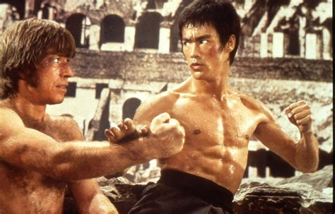 chuck norris and bruce lee fight bruce lee thatfightscene