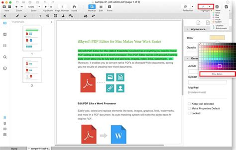 change highlight color in pdf best pdf highlighter how to highlight in pdf easily