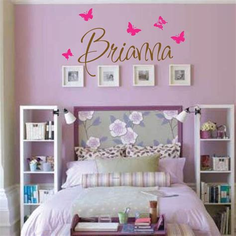 Bedroom Names by Wall Decal Room Childrens Wall Decal Wall