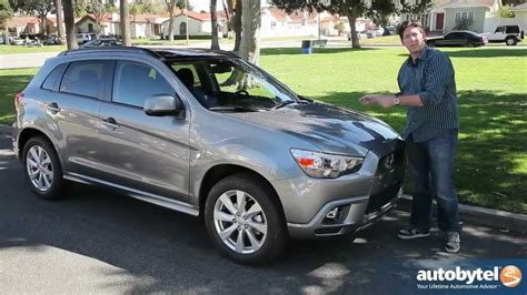 Mitsubishi Outlander Sport 2012 Review by 2012 Mitsubishi Outlander Sport Test Drive Crossover Suv