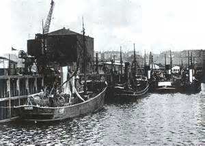 Old Scottish Fishing Trawler